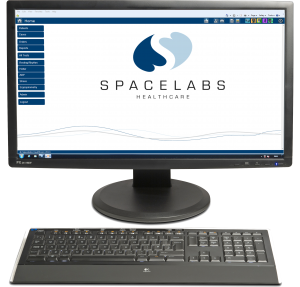 Spacelabs Sentinel home screeen